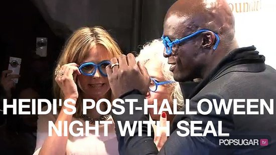 heidi klum and seal halloween costumes. Heidi Klum tells us the best