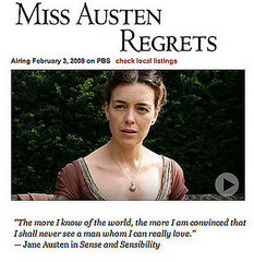 miss austen regrets   the complete jane austen on pbs